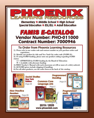 Famis Catalog | Catalog | Phoenix Learning Resources