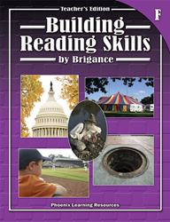 Building Reading Skills - Book F - Teachers Edition