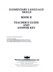 Elementary Language Skills - Book B Teachers Guide