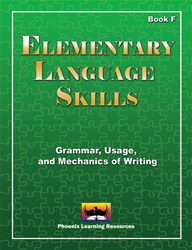 Elementary Language Skills - Book F