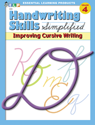 Handwriting Skills - Grade 4 - Improving Cursive Writing