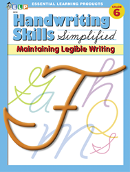 Handwriting Skills - Grade 6 - Maintaining Cursive Writing