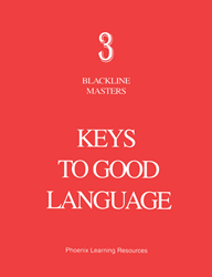 Keys to Good Language - Grade 3 Blackline Masters