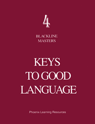 Keys to Good Language - Grade 4 Blackline Masters