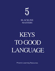Keys to Good Language - Grade 5 Blackline Masters