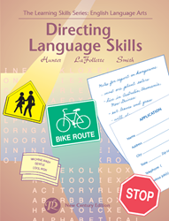 Learning Skills: English Language Arts - Book D - Directing