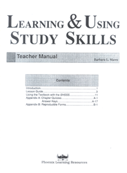 Learning & Using Study Skills - Teacher Manual
