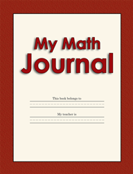 Math Journal 3-5 - Version A