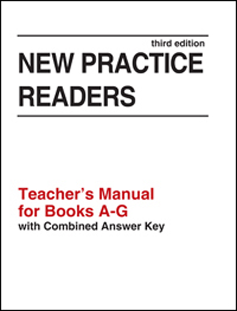 New Practice Readers Teacher Guide/Answer Key