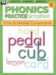 Phonics Practice - Book C - Final & Medial Consonants