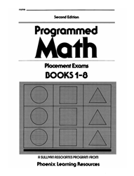Programmed Math - Placement Exams (set of 10)