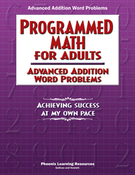 Programmed Math for Adults - Advanced Addition Word Problems