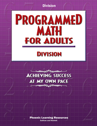 Programmed Math for Adults - Division