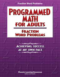 Programmed Math for Adults - Fraction Word Problems