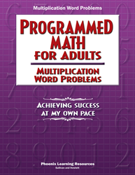 Programmed Math for Adults - Multiplication Word Problems