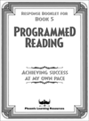Programmed Reading - Book 5 - Student Response Booklet