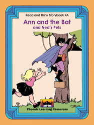 Read and Think Storybooks - Book 4A - Ann and the Bat