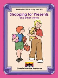 Read and Think Storybooks - Book 9A - Shopping for Presents