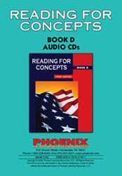 Reading for Concepts - Book D - CD