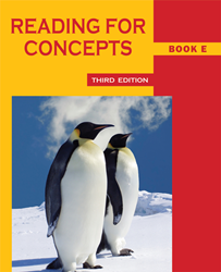 Reading for Concepts - Book E
