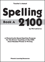 Spelling 2100 - Book A - Teachers Guide