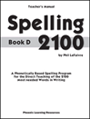 Spelling 2100 - Book D - Teacher's Guide