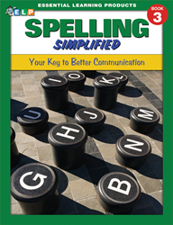 Spelling Simplified - Book 3 - Grade 3