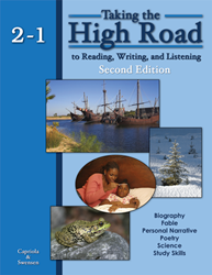 Taking the High Road to Reading, Writing, and Listening - 2nd Edition - Book 2-1