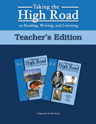 Taking the High Road to Reading, Writing, and Listening - 2nd Edition - Book 2 TG