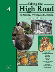 Taking the High Road to Reading, Writing, and Listening - 2nd Edition - Book 4
