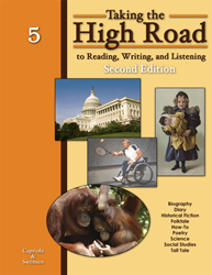 Taking the High Road to Reading, Writing, and Listening - 2nd Edition - Book 5