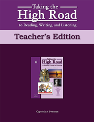 Taking the High Road to Reading, Writing, and Listening - 2nd Edition - Book 6 TG