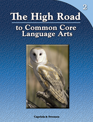 The High Road to Common Core Language Arts - Book 2