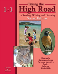 Taking the High Road to Reading, Writing, and Listening - 2nd Edition - Book 1-1