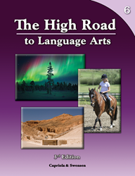 The High Road to Language Arts - 3rd Edition - Book 6