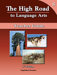The High Road to Language Arts - 3rd Edition - Book 8 Teacher Manual