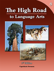 The High Road to Language Arts - 3rd Edition - Book 8