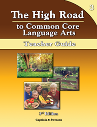 The High Road to Language Arts - 3rd Edition - Book 3 Teacher Manual