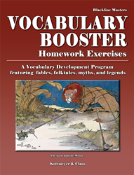Vocabulary Booster - Homework Masters