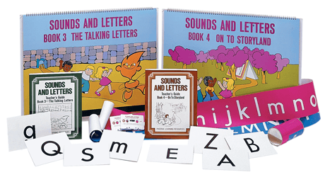 Emergent Reading - Kit 2 - Sounds and Letters