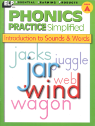 Phonics Practice - Book A - Introduction to Sounds/Words