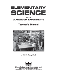 Elementary Science Workbook - Teacher Manual