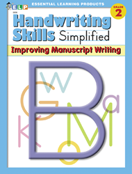 Handwriting Skills - Grade 2 - Improving Manuscript Writing