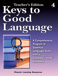 Keys to Good Language - Grade 4 Teachers Edition