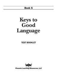 Keys to Good Language - Grade 5 Test
