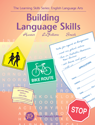 Learning Skills: English Language Arts - Book B - Building