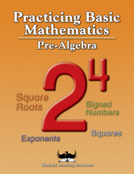 Practicing Basic Math - Pre-Algebra
