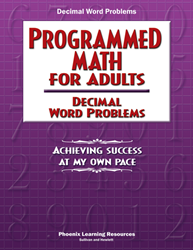 Programmed Math for Adults - Decimal Word Problems