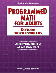 Programmed Math for Adults - Division Word Problems