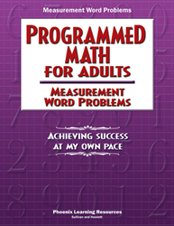 Programmed Math for Adults - Measurement Word Problems